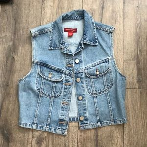 Banana Republic Denim Vest